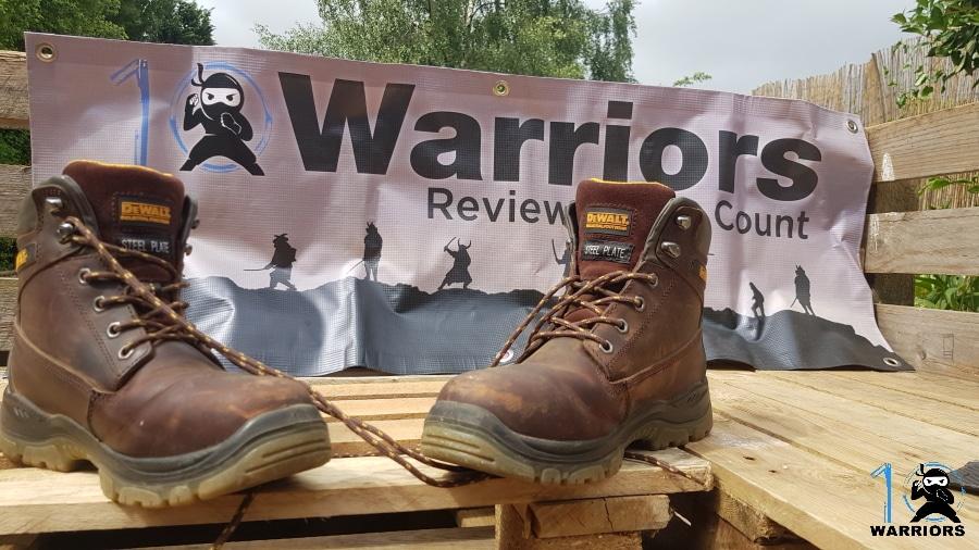 dewalt mens titanium work boots front view