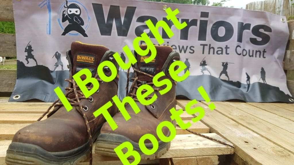 dewalt mens titanium work boots review