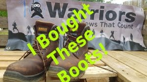 dewalt mens titanium work boots review