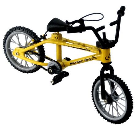 mini finger mountain bike